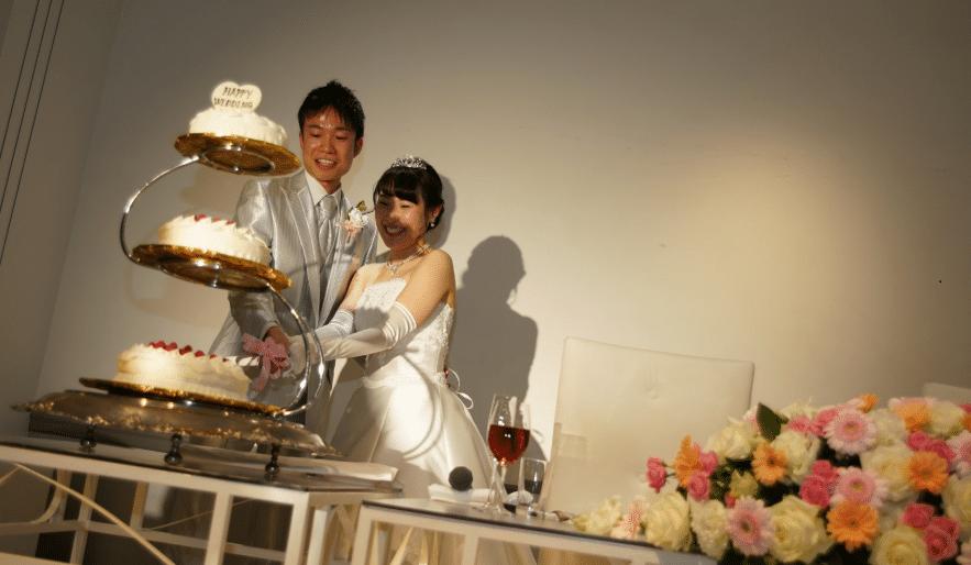 2018年3月に無事に 結婚式をあげられました