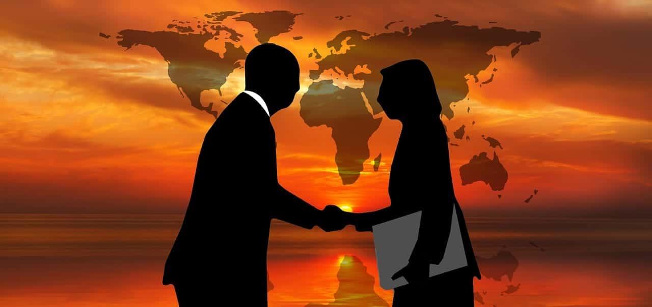 海外に信用できる友人やビジネスパートナーがいる