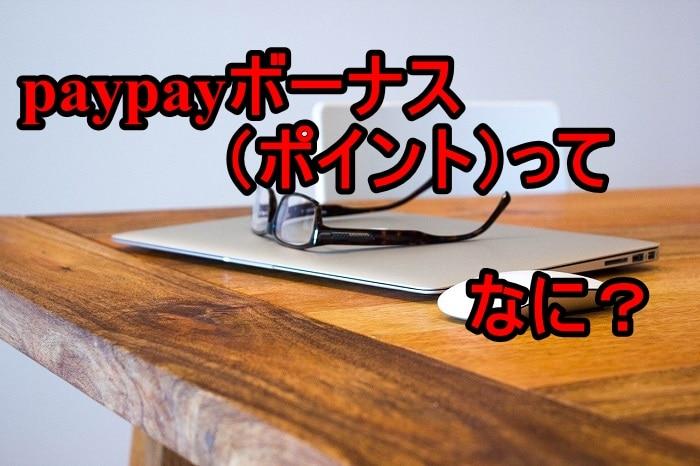 paypayボーナス(ポイント)とは?