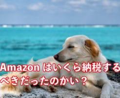 Amazon納税いくら