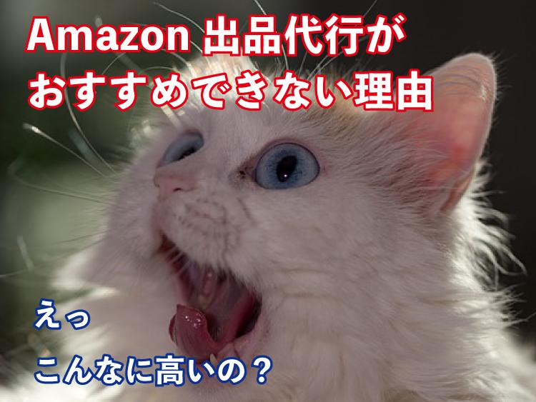 Amazon出品代行がおすすめできない理由