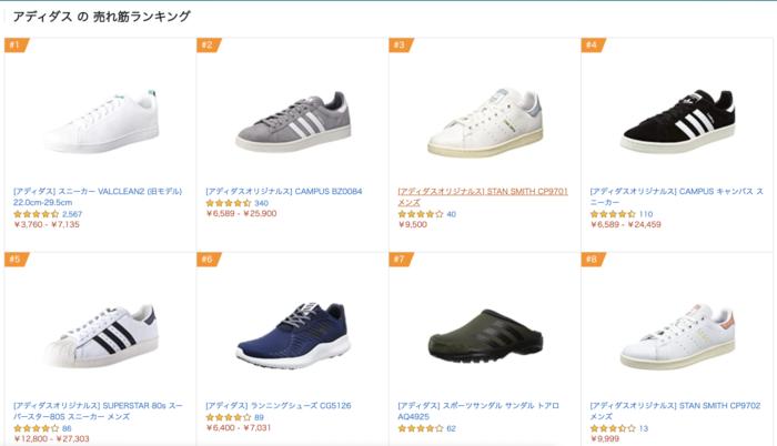 Amazon 売れ筋ランキング