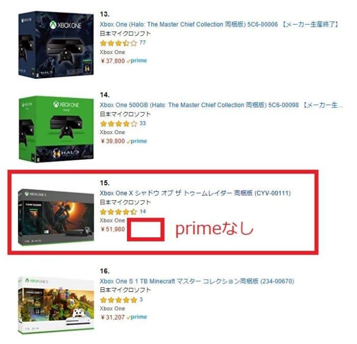 TVゲーム売れ筋ランキングで発見