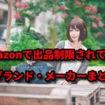 【最新版】Amazon出品制限ブランドの一覧と制限解除する裏ワザ