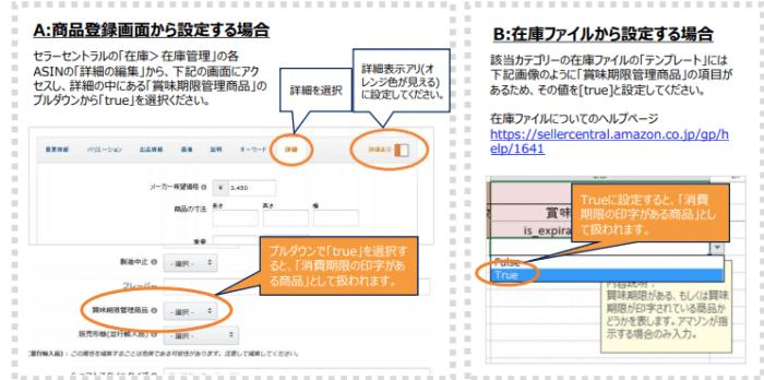 Amazon商品登録(ASIN)の設定