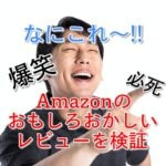 爆笑必死!amazonのレビューが面白いモノは売れているのか?徹底検証してみた